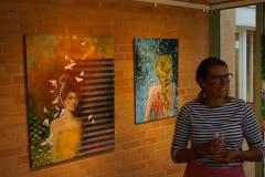 Utställning Galleri Glasverandan i Fristad